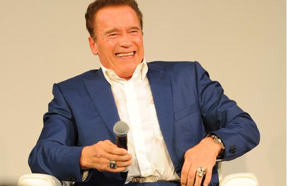Arnold Schwarzenegger CAIS 2016